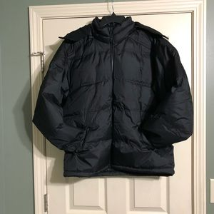 St. John's Bay Black Large Jacket Hood